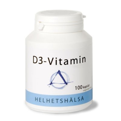 D-vitamin 3000 IE 100 kapslar