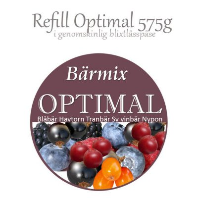 Storpack Optimal Bärpulvermix 575g